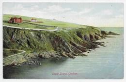 Coast Scene, Onchan. Manx Sun Series 0430 (green Back) - Isle Of Man
