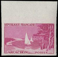 FRANCE Essais  1312 Essai En Carmin, Bdf: Arcachon, Voiliers - Essais