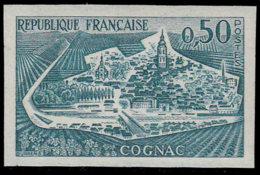 FRANCE Essais  1314 Essai En Bleu-vert: Cognac, Vignes - Probedrucke