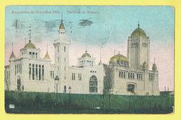* Brussel - Bruxelles - Brussels * Exposition Universelle Expo 1910, Pavillon De Monaco, Couleur, Rare, Old - Wereldtentoonstellingen