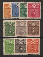 SPM - 1947 - Taxe TT N°Yv. 67 à 76 - Série Complète - Neuf Luxe ** / MNH / Postfrisch - Postage Due