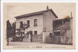 CPA 69 VERNAISON Platrerie Peinture J.L. Bourdin Place De Vernaison - Autres Communes