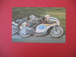 Carte Moto  Japanese Classics  - Mike Hailwood  Honda And Phil Read Yamaha - Motos