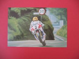 Carte Moto  Japanese Classics  - Joey Dunlop Honda RVF 750 - Moto