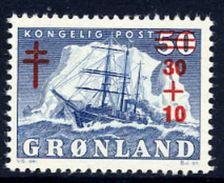 GREENLAND 1958 Tuberculosis Campaign MNH / **.   Michel 40 - Greenland