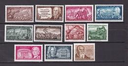 DDR - 1953 - Michel Nr. 380/384+398/403 - Postfrisch - 30.5 Euro - DDR