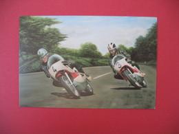 Carte Moto  Japanese Classics  - Bill Ivy And Phil Read  Yamaha 125 - Moto