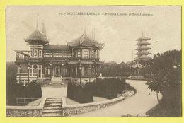 * Laken - Laeken (Brussel - Bruxelles) * (nr 19) Pavillon Chinois Et Tour Japonaise, China Japan, Parc, Rare - Laeken