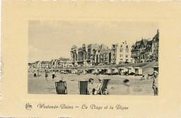 CPA - Belgique -  Flandre Occidentale - Westende - La Plage Et La Digue - Westende