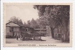 CPA 69 VERNAISON SOLAIZE Restaurant Ballandras - Autres Communes
