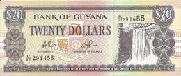 GUYANE 20 DOLLARS ND2009 UNC P 30 E - Guyana
