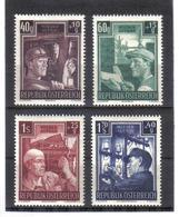 BAU265 ÖSTERREICH 1951 MICHL 960/63 ** Postfrisch SIEHE ABBILDUNG - 1945-60 Neufs