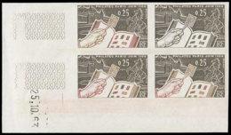 FRANCE Essais  1403 Balc De 4 Essais Dont 3 Poychromes, Cd 25/10/63, Cdf: Philatec, Cheval - Proofs