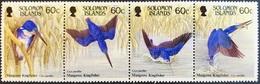 #Solomon Island 1987** Mi.655-58 Birds , MNH [26;52] - Birds