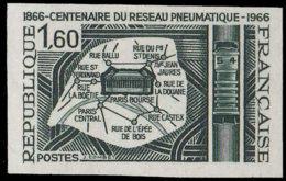 FRANCE Essais  1498 Essai En Vert-noir: Centenaire Du Réseau Pneumatique De Paris - Essais
