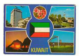 CPM. Multi-Vues. Koweit. Circulé. 1983. - Koweït