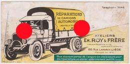 LIEGE Rue LAMARCK Ateliers Garage  Em. ROY  / Réparations Camion Et Automobile - Transport