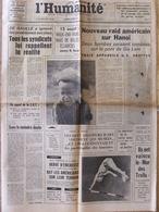 Journal L'Humanité (12 Août 1967) Raid Américain - De Gaulle Et Problèmes Sociaux - Mur Des Trolls Vaincu - Zeitungen