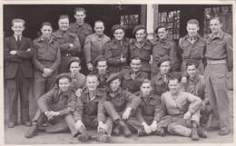 Soldat Armée Belge En Irlande Brigade 1945 à Omagh  Photo Carte - Documenten