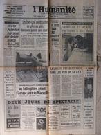 Journal L'Humanité (7 Août 1967) Mémé Guérini - Petit Train Des Floralies Orléans - Liberté C.E.E - Zeitungen