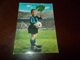 B716  Bambino-calciatore-inter Viaggiata Lievi Imperfezioni Angoli - Bambini