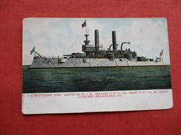 US Battleship Iowa       Ref 3174 - Krieg