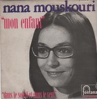 Disque 45 Tours NANA MOUSKOURI *** - Disco, Pop