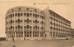 CPA - Belgique -  Flandre Occidentale - Westende - Le Grand Hôtel Belle-Vue - Westende
