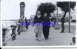 107752 URUGUAY PIRIAPOLIS COSTUMES COUPLE YEAR 1951 PHOTO NO POSTAL POSTCARD - Uruguay