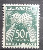 FRANCE Taxe 88 Et 89 N** - Taxes