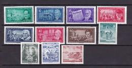 DDR - 1955 - Michel Nr. 470+472/478+481/483 - Postfrisch - 23 Euro - DDR
