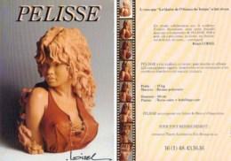 LOISEL : Carte Presentation Statuette PELISSE - Loisel