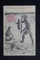 NOUVELLES HÉBRIDES - Carte Postale - Chasse à La Tortue Et Poissons , Sancto -Esperuti - L 23452 - Vanuatu