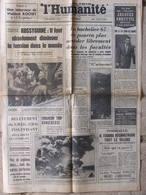 Journal L'Humanité (27 Juin 1967) Le Bachelier 67 - Anquetil - Mort De Françoise Dorléac -Papa Doc - Zeitungen