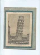 Italia 1898 Tour De Pise Torre Di Pisa Cahier Complet Excellent état  Protège-cahier Couverture 225 X 175 Mm 4 Scans - Protège-cahiers