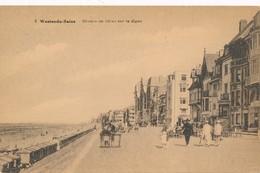 CPA - Belgique -  Flandre Occidentale - Westende - Groupe De Villas Sur La Digue - Westende