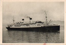 Navi - Genova - CONTE GRANDE - Fg Nv - Barche