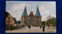 Lübeck Holstentor Germany - Luebeck