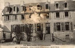 CPA Lamballe Château De Lescouët (pendant La Guerre : Quartier Ducret) - Châteaux