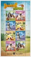 H01 Croatia  2019  Children's World  Pets  Dogs II Sheetlets - Croatia