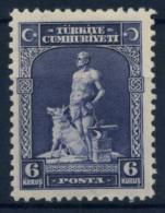 Turquie 1929 Mi. 888 Neuf * 100% 6 K, Gray Wolf - 1921-... Republik
