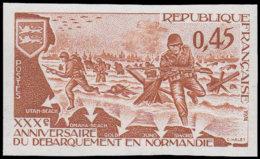 FRANCE Essais  1799 Essai En Brun: 30°an Du Débarquement En Normandie - Prove
