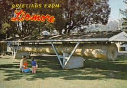 AL48 Greetings From Lismore, NSW, Cedar Log - Other