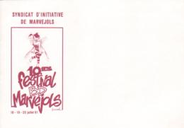 LOISEL : Enveloppe Salon MARVEJOLS 1991 - Loisel