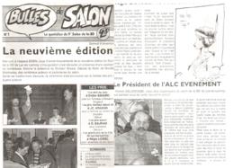 LOISEL : Depliant BULLES DE SALON Pour LYS LEZ LANNOY 1996 - Loisel