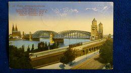 Coeln Hohenzollernbrücke Germany - Koeln