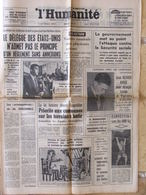 Journal L'Humanité (21 Juin 1967) Débat Moyen Orient - Sécurité Sociale - Jean Olivier - Zeitungen