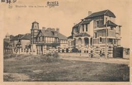 CPA - Belgique -  Flandre Occidentale - Westende - Villas Au Chemin Des Dames - Westende