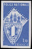 FRANCE Essais  1907 Essai En Bleu: Police Nationale, Hélicoptère, Moto - Essais