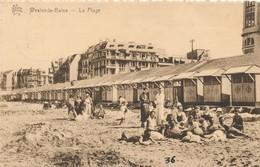 CPA - Belgique -  Flandre Occidentale - Westende - La Plage - Westende